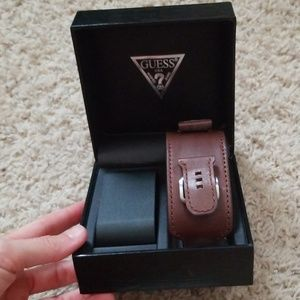 Guess leather watch band